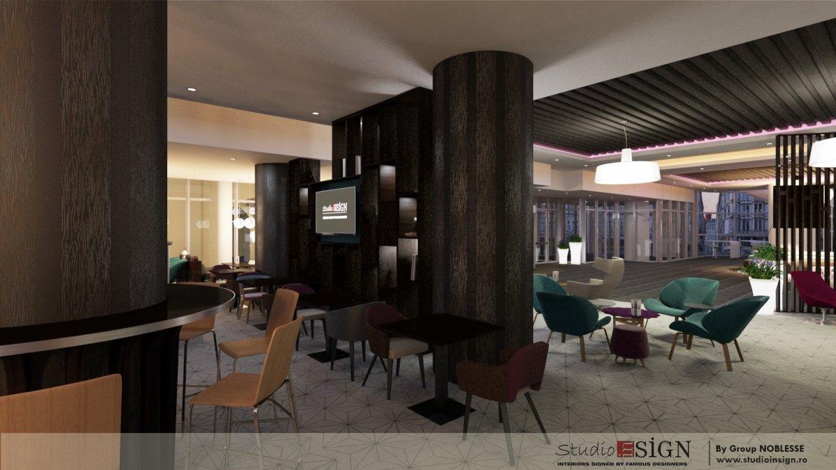 Design interior bistro Novo 2-4