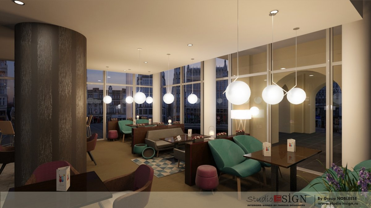 Design interior bistro Novo 2-5