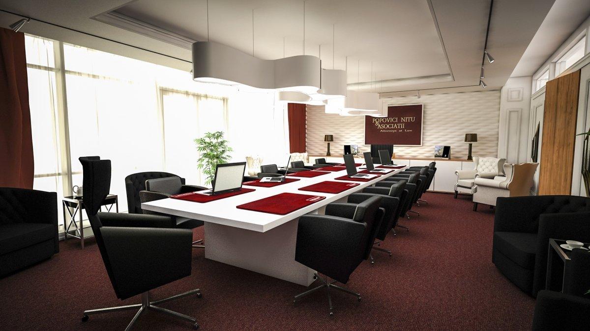 Design interior cabinet avocatura Bucuresti-1