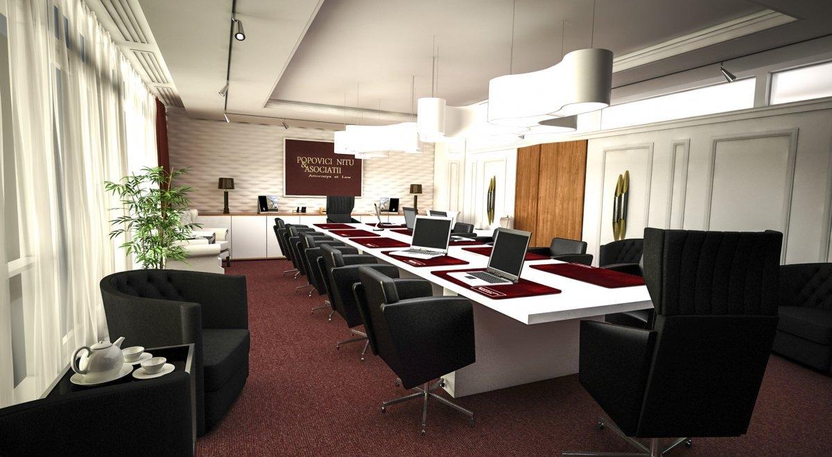 Design interior cabinet avocatura Bucuresti-3