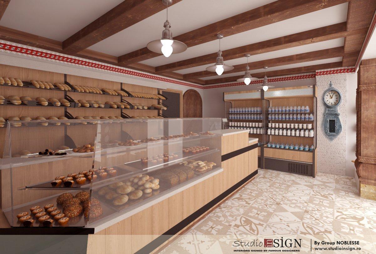 Design interior lant de brutarii- Cuptorul din poveste-10