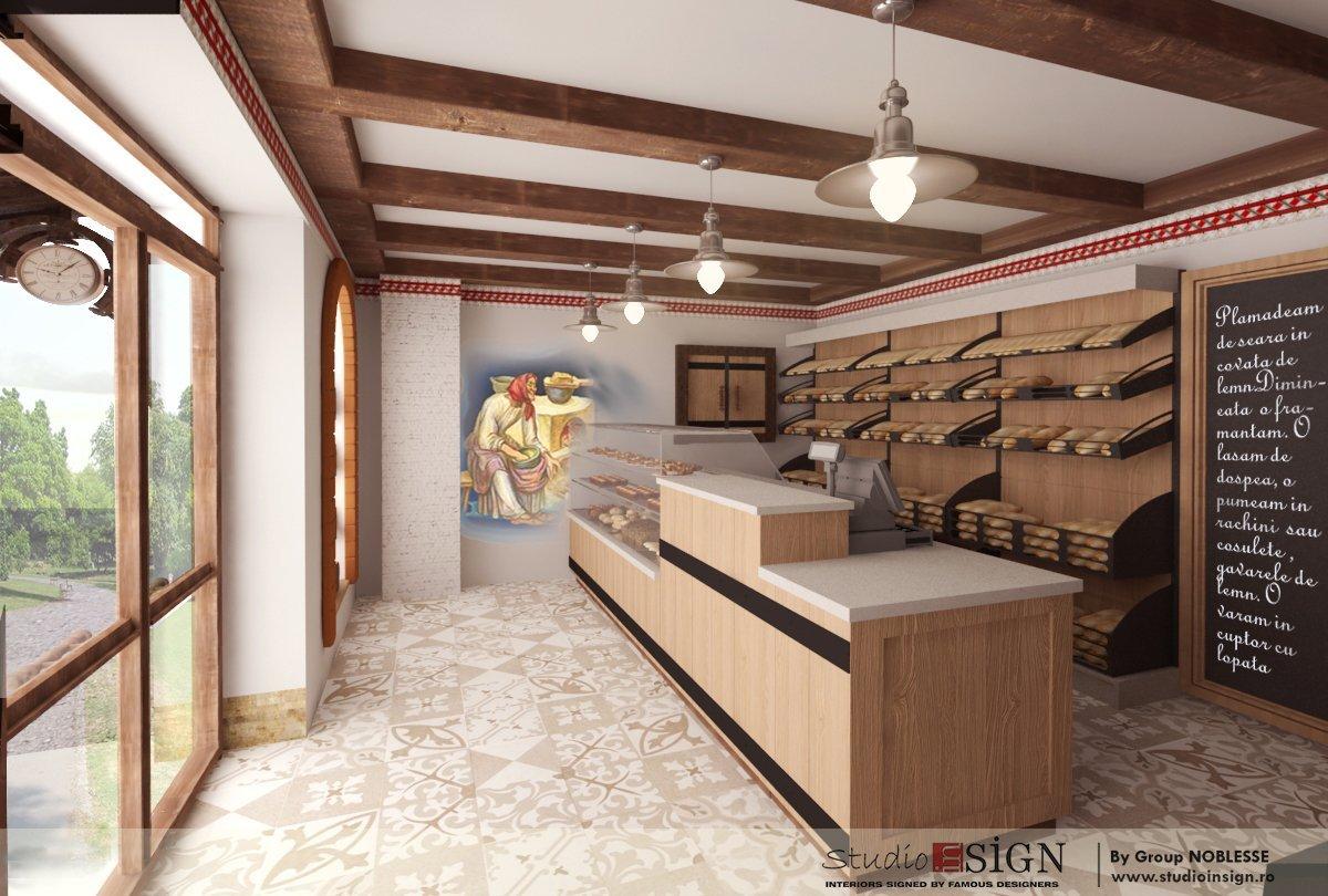 Design interior lant de brutarii- Cuptorul din poveste-11