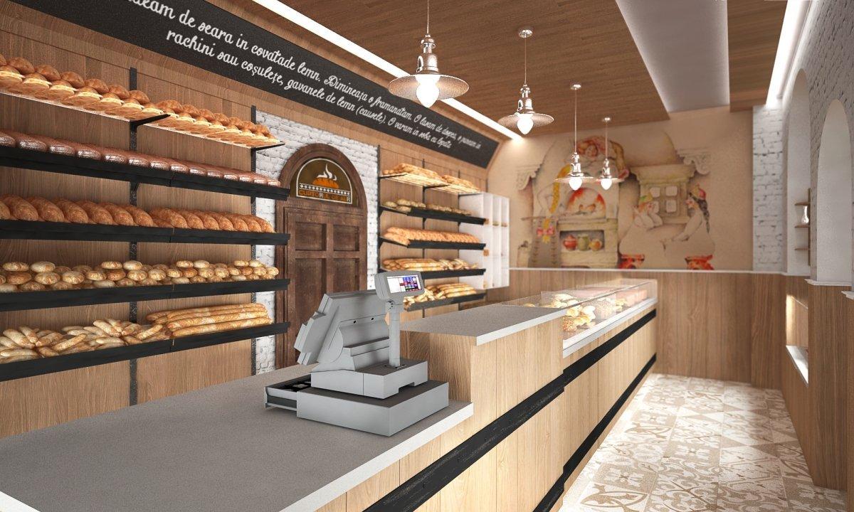 Design interior lant de brutarii- Cuptorul din poveste-2