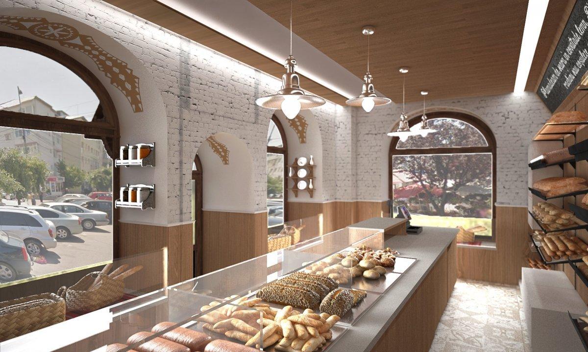 Design interior lant de brutarii- Cuptorul din poveste-3