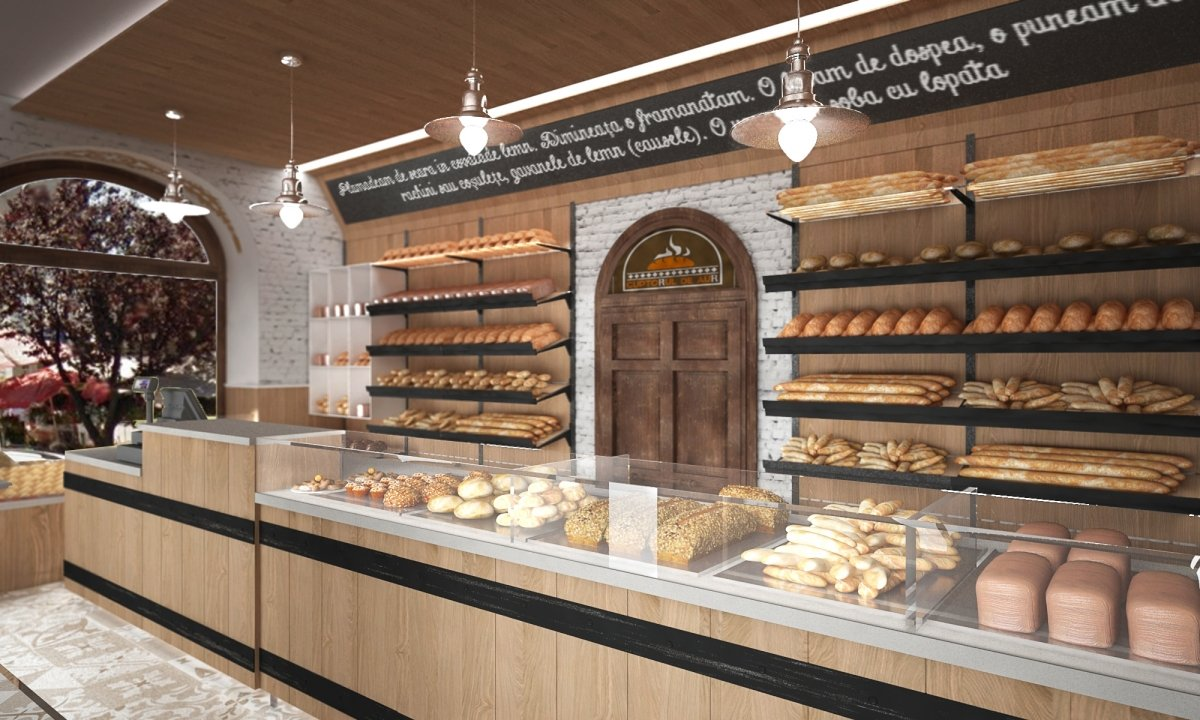 Design interior lant de brutarii- Cuptorul din poveste-4