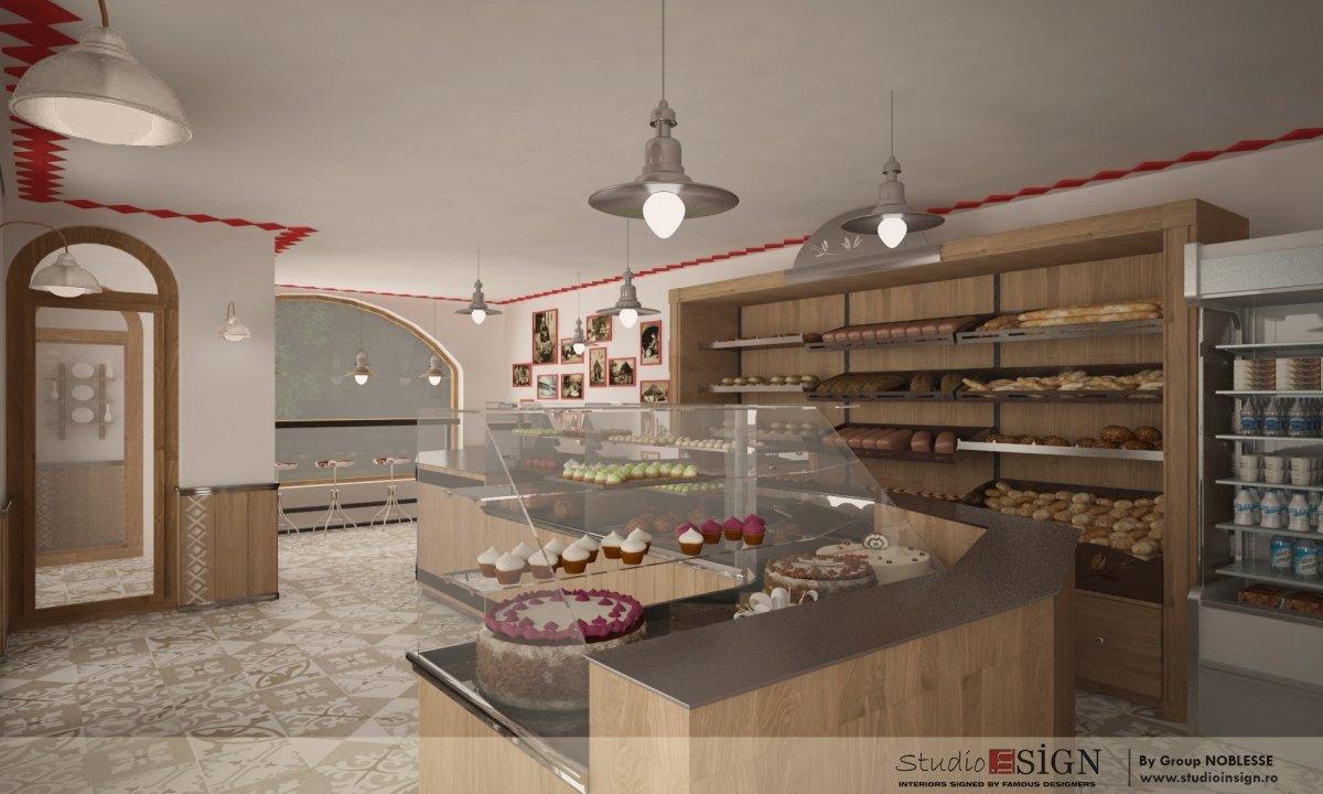 Design interior lant de brutarii- Cuptorul din poveste-5