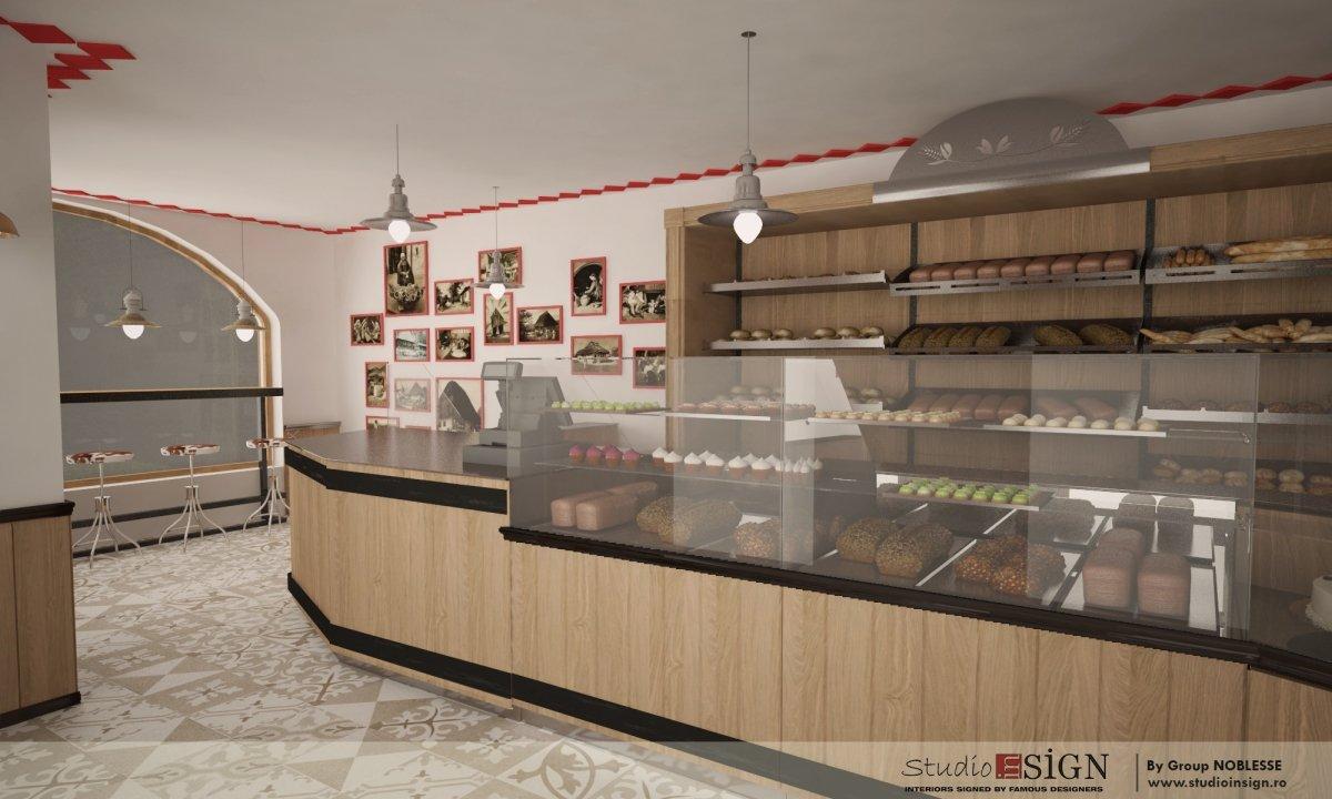 Design interior lant de brutarii- Cuptorul din poveste-6