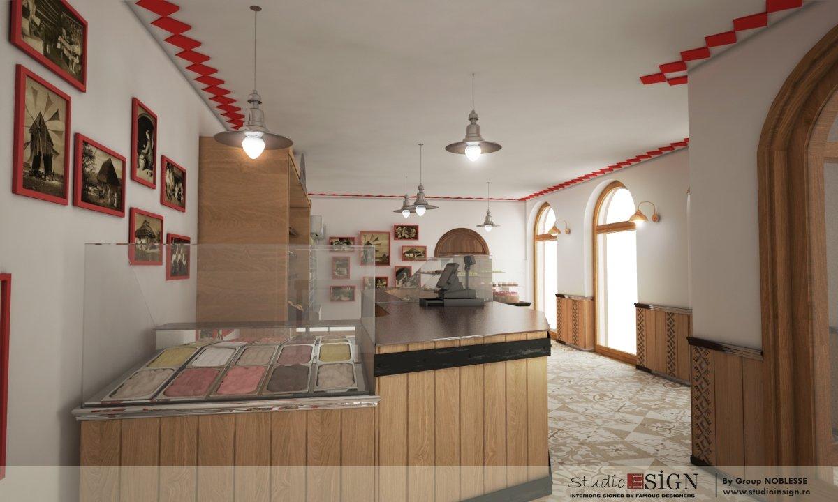 Design interior lant de brutarii- Cuptorul din poveste-7