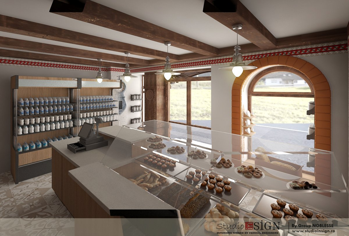 Design interior lant de brutarii- Cuptorul din poveste-8