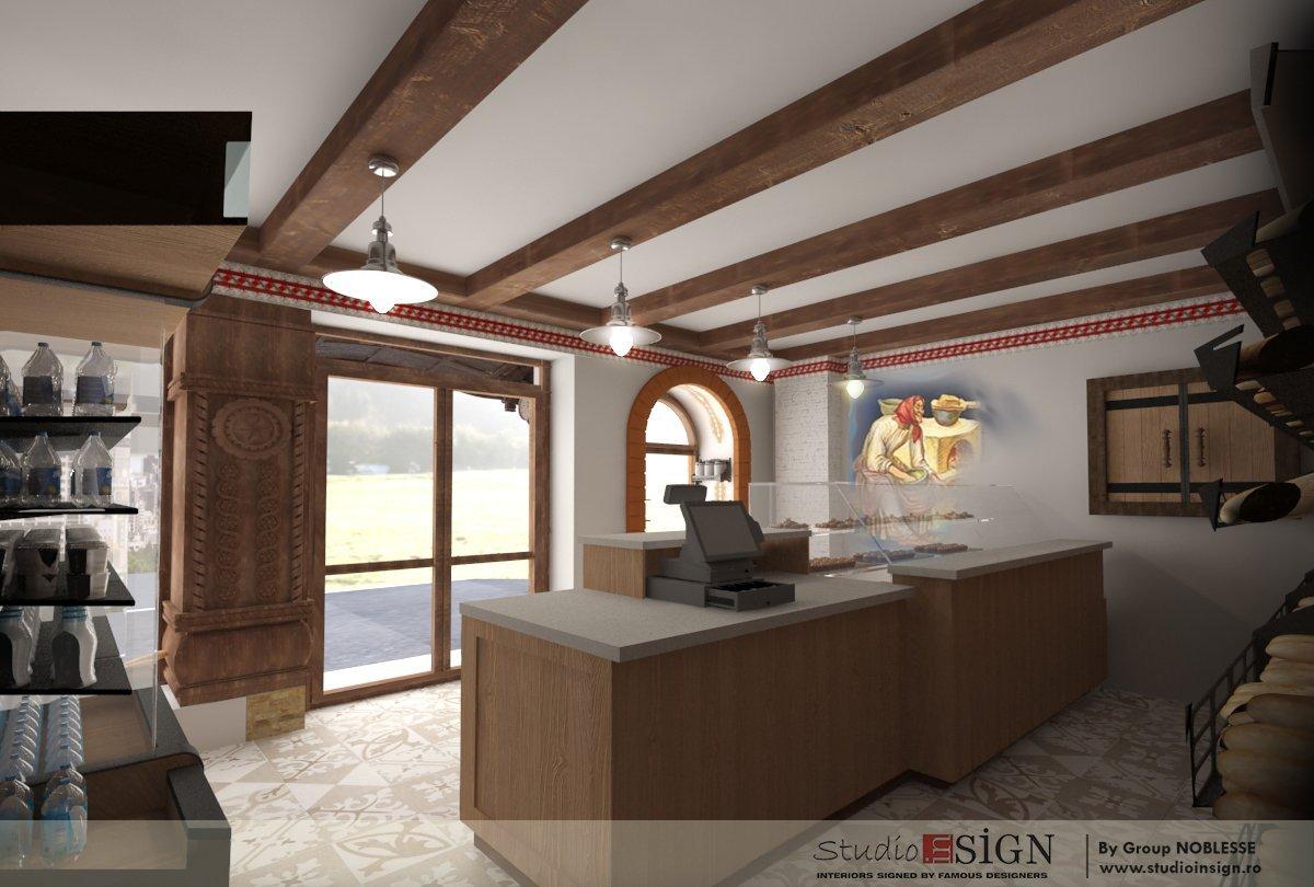 Design interior lant de brutarii- Cuptorul din poveste-9