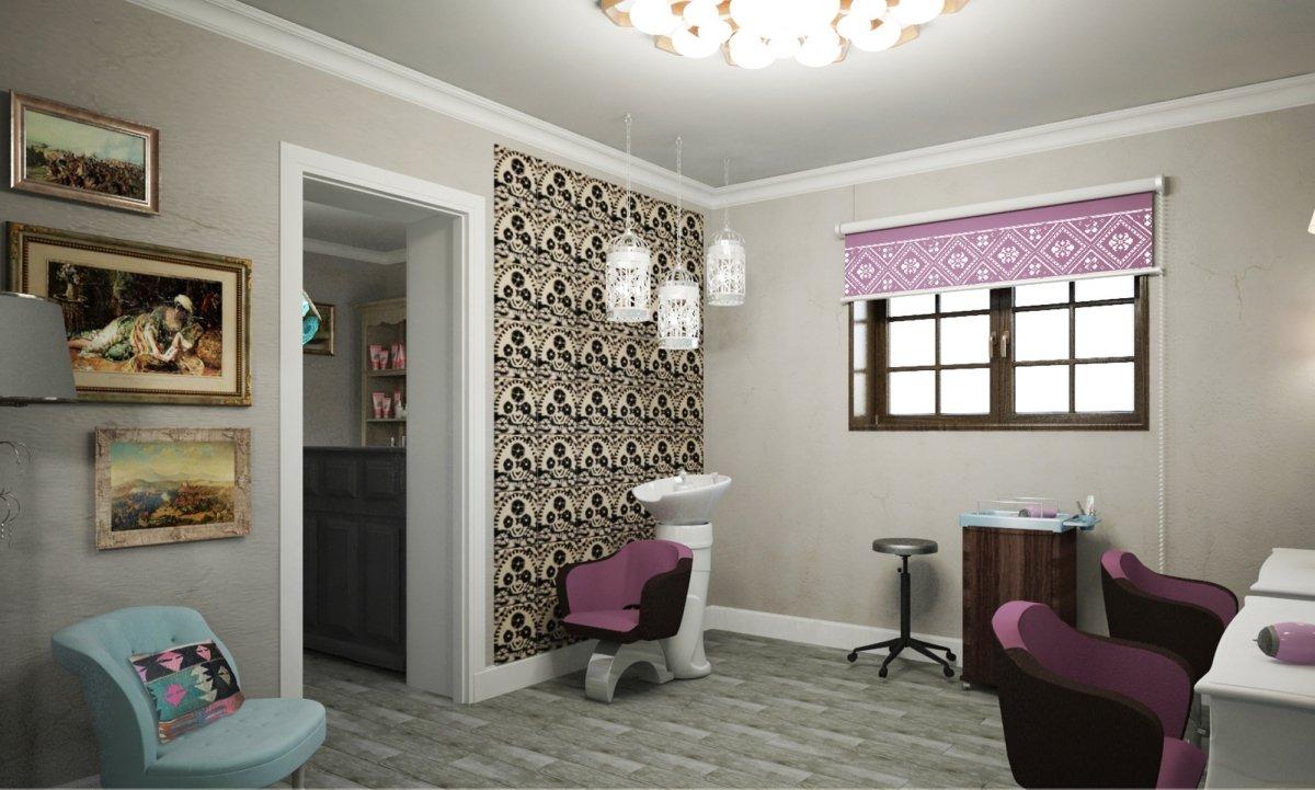 Design interior salon cosmetica si coafor Vila Margareta-1