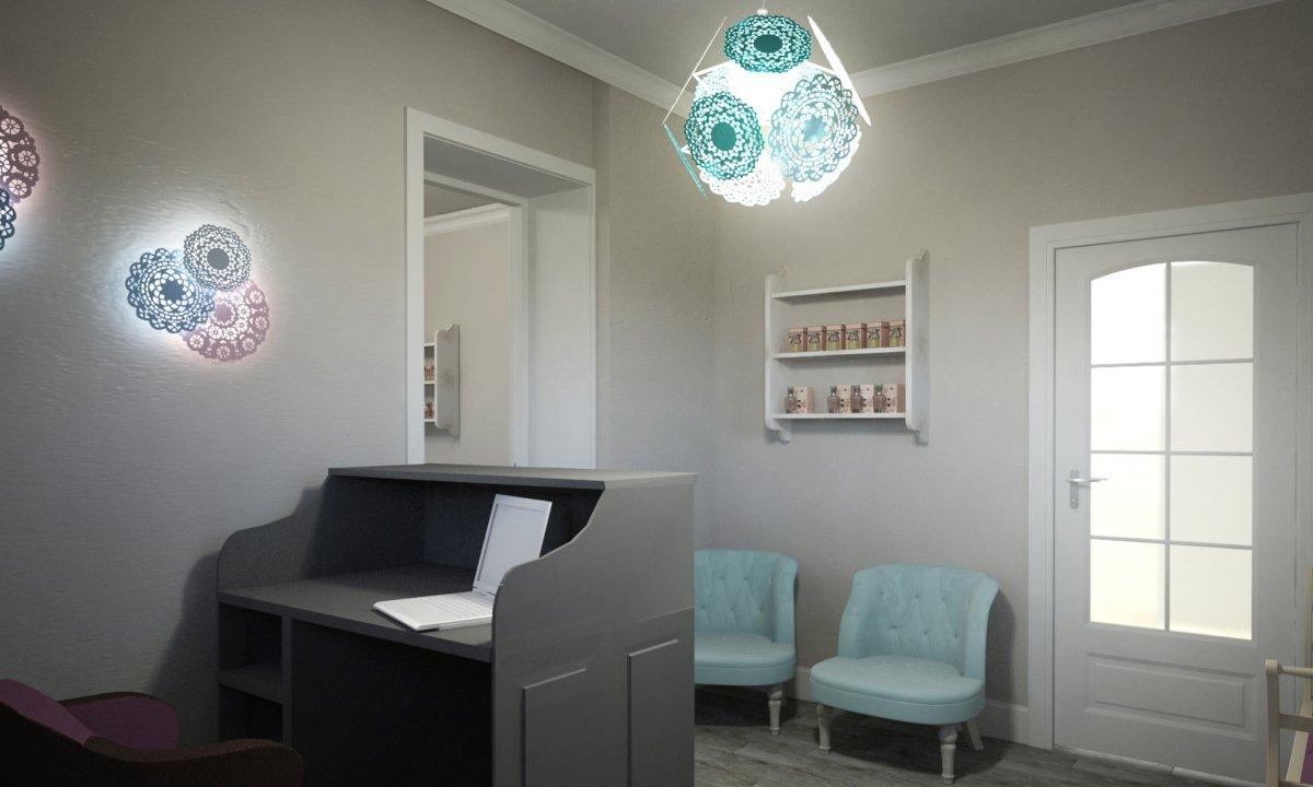 Design interior salon cosmetica si coafor Vila Margareta-5