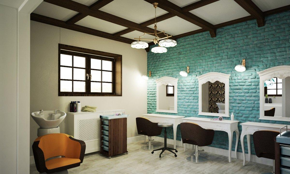 Design interior salon cosmetica si coafor Vila Margareta-6