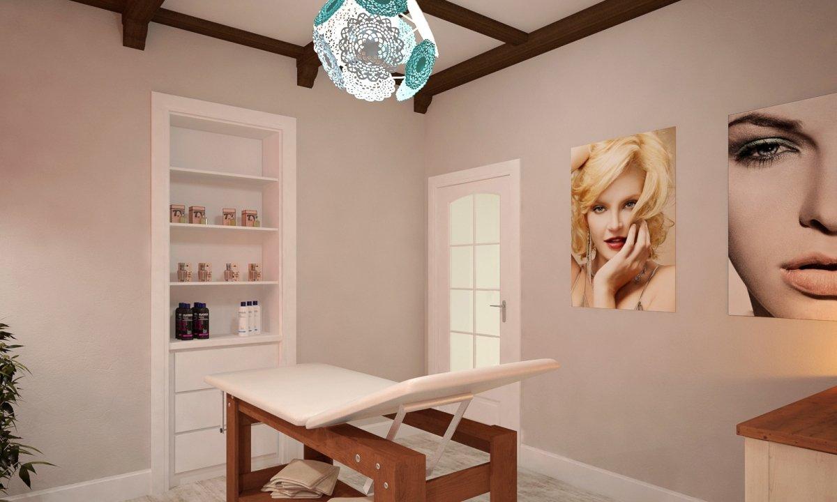 Design interior salon cosmetica si coafor Vila Margareta-9