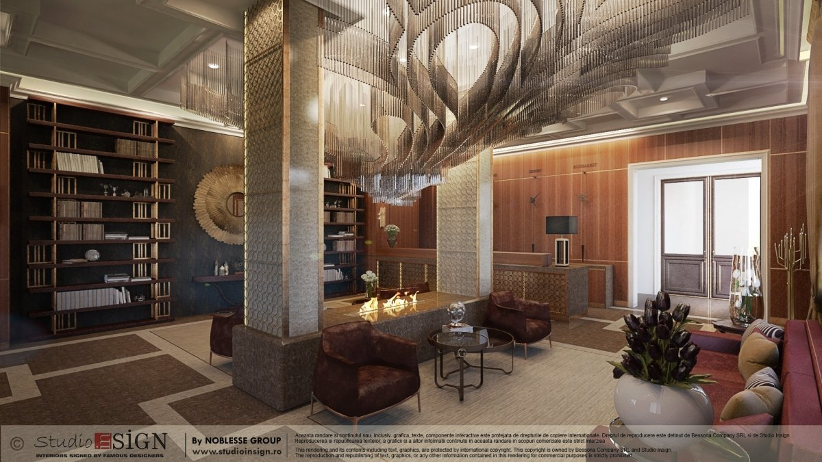 Proiect amenajare Lobby & lounge Hotel Brasov-1