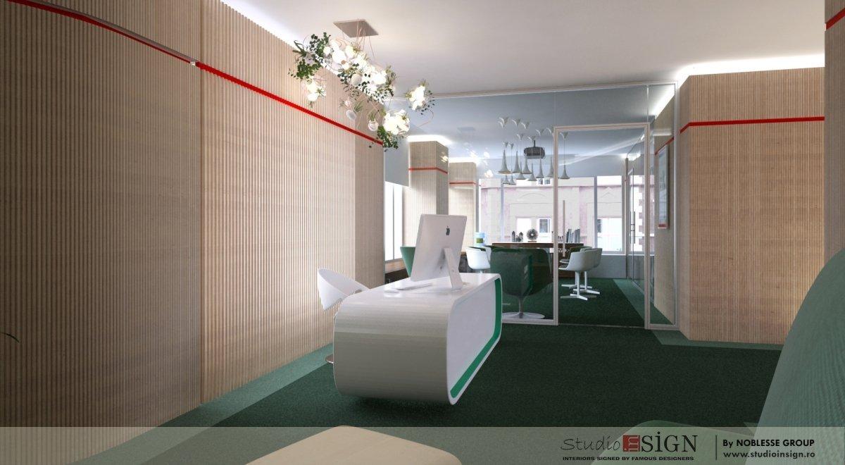Proiect amenajare birouri si receptie-2