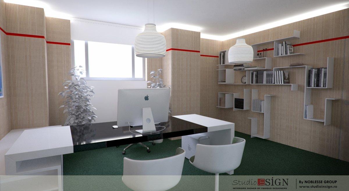 Proiect amenajare birouri si receptie-3