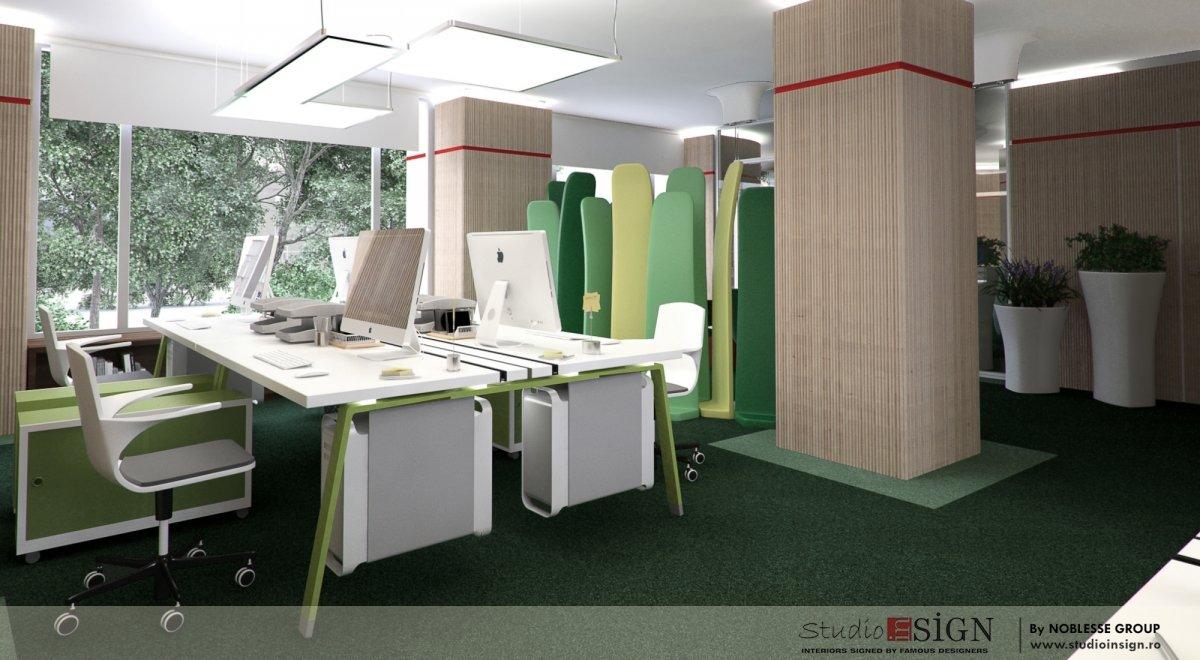 Proiect amenajare birouri si receptie-5