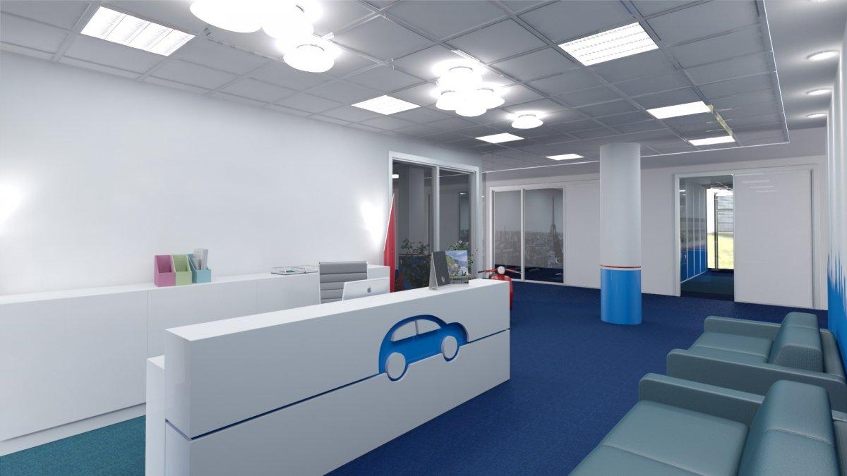 Proiect amenajare interioara – Birouri Floreasca-10