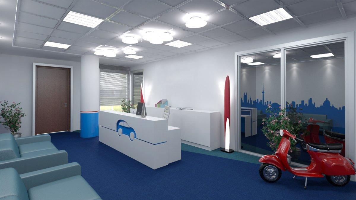 Proiect amenajare interioara – Birouri Floreasca-2