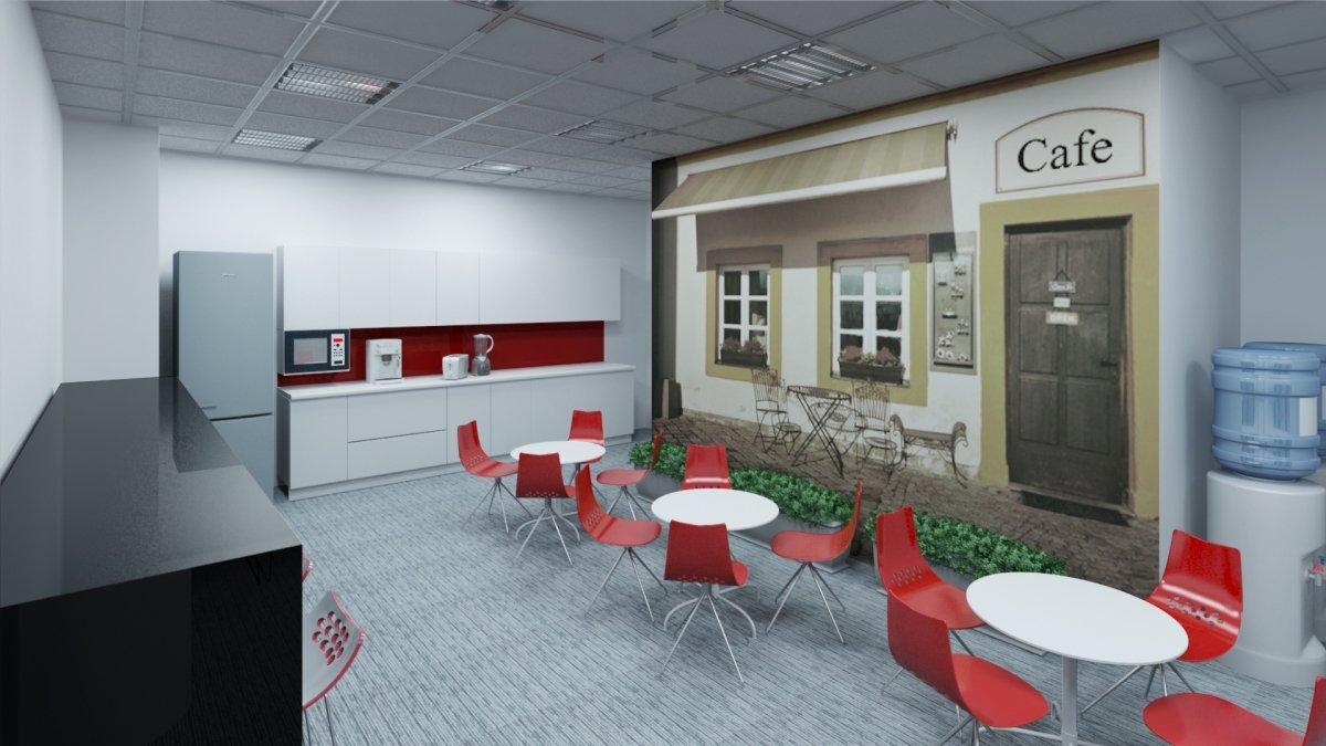 Proiect amenajare interioara – Birouri Floreasca-4