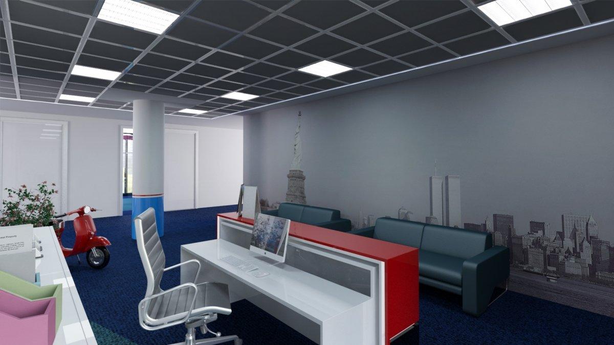 Proiect amenajare interioara – Birouri Floreasca-9