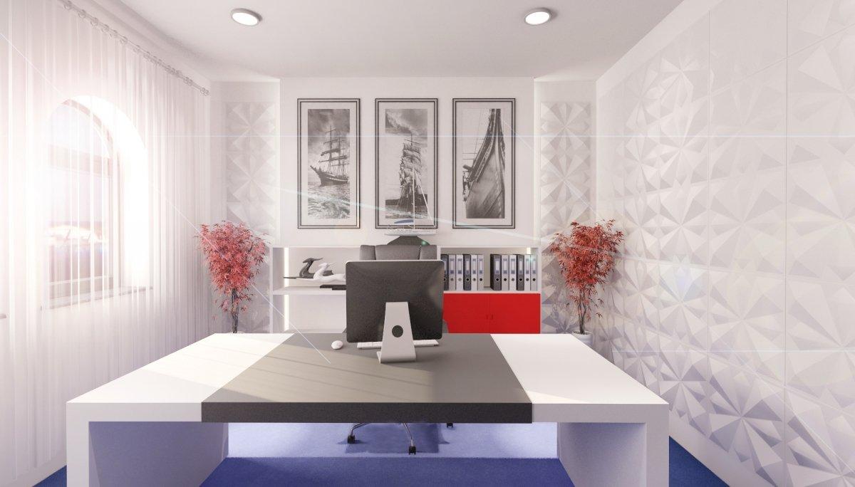 Proiect amenajare interioara – Cabinet avocatura-10