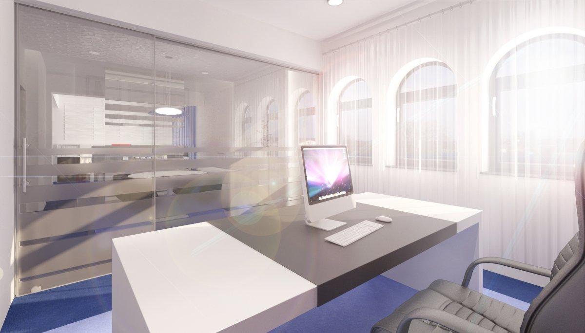 Proiect amenajare interioara – Cabinet avocatura-12