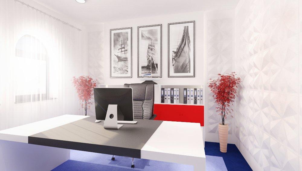 Proiect amenajare interioara – Cabinet avocatura-13
