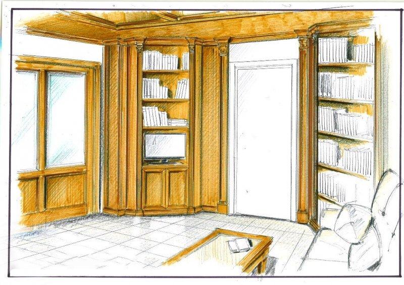 Proiect amenajare interioara -Birou Cotroceni-1