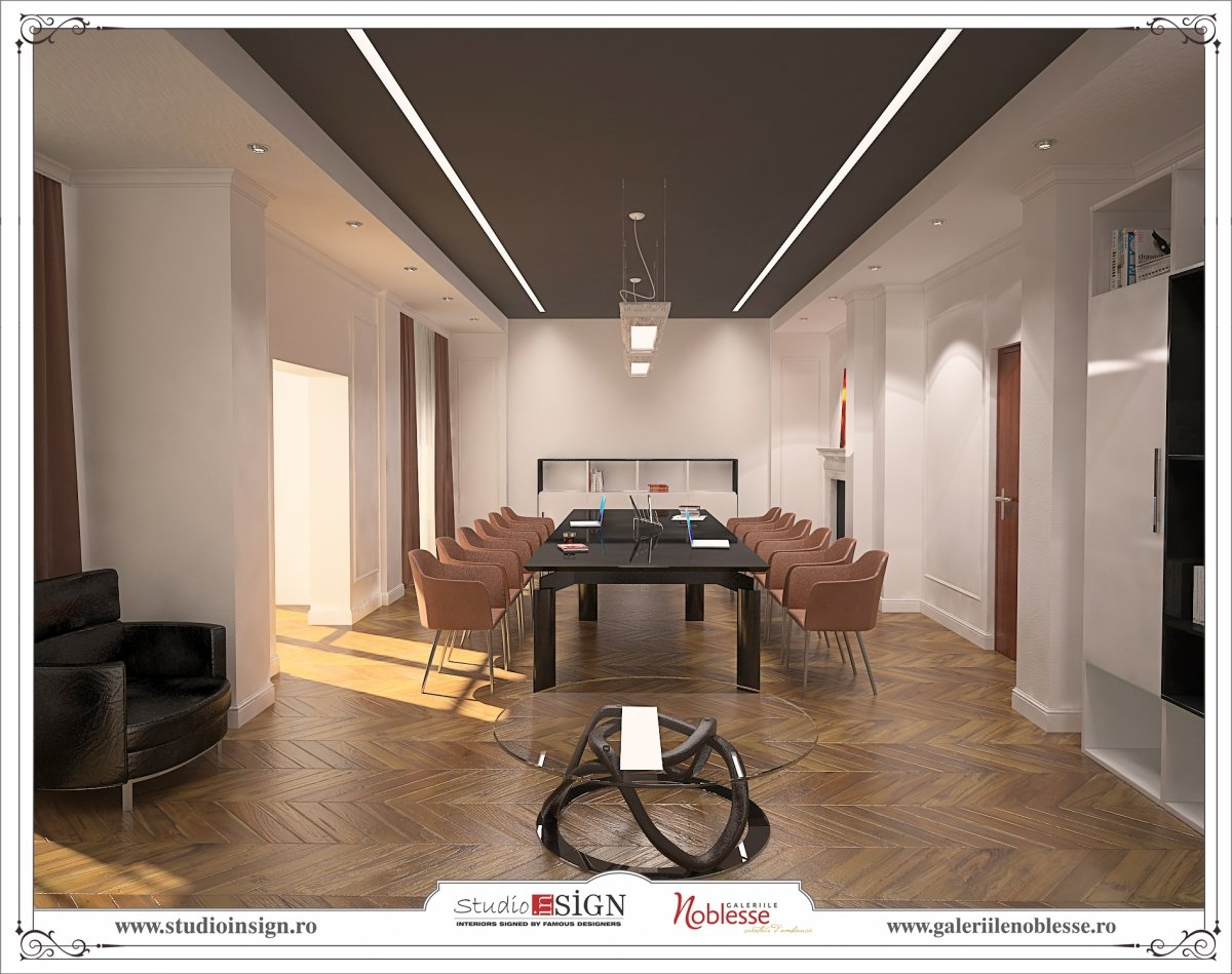 Proiect amenajare interioara - Birouri Macin-1