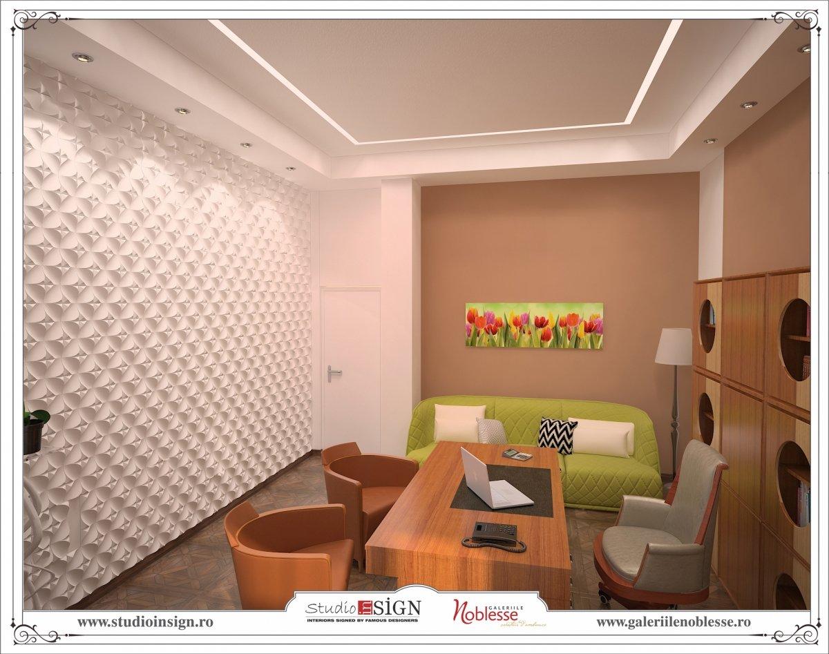 Proiect amenajare interioara - Birouri Macin-10