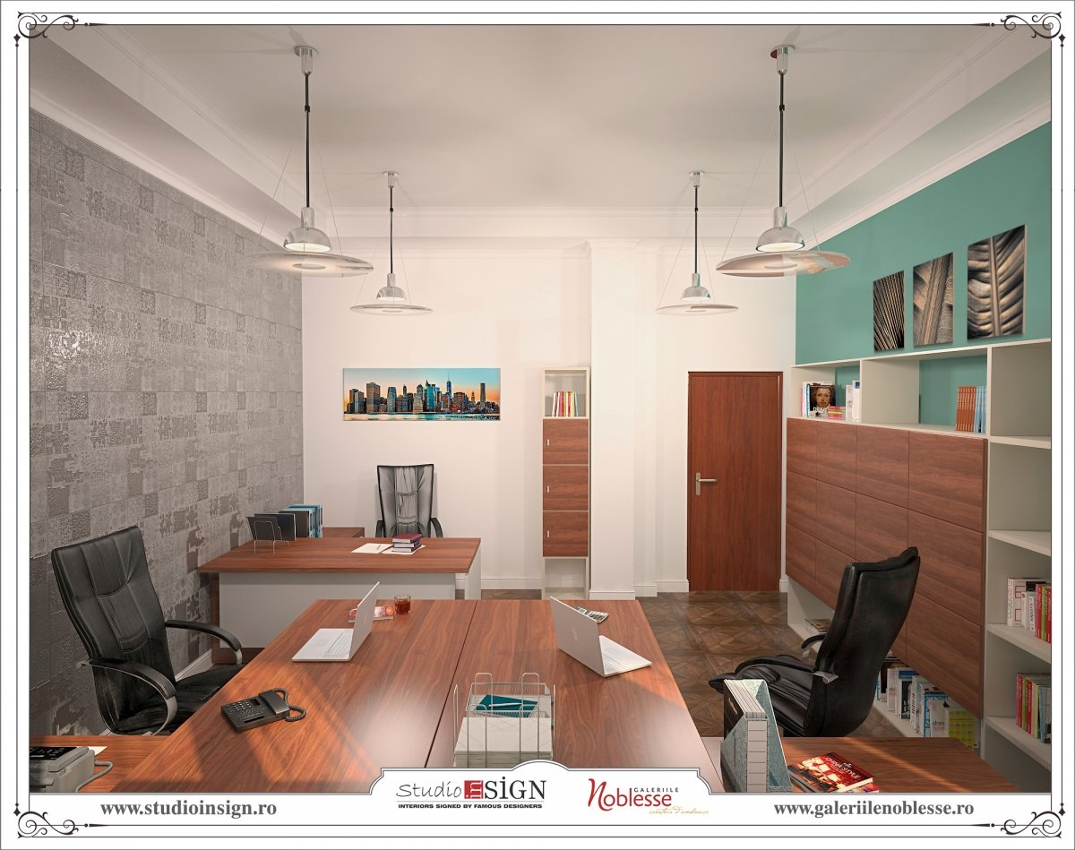 Proiect amenajare interioara - Birouri Macin-11