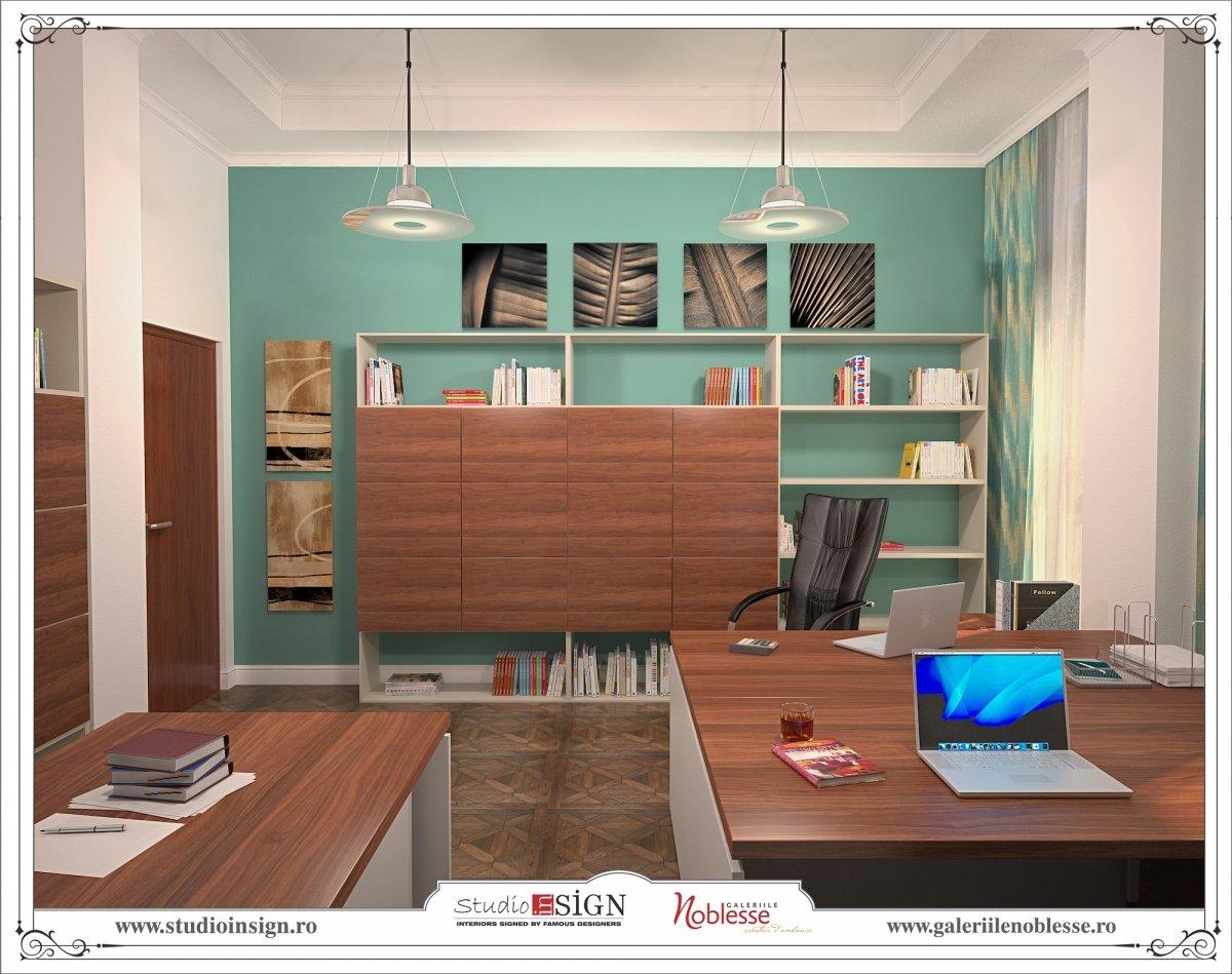 Proiect amenajare interioara - Birouri Macin-12