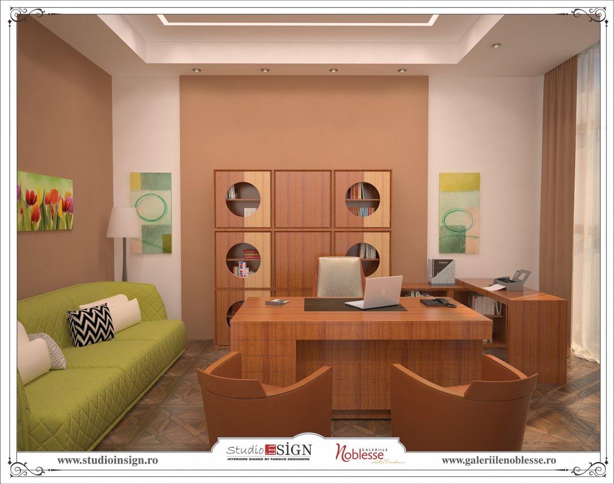 Proiect amenajare interioara - Birouri Macin-13