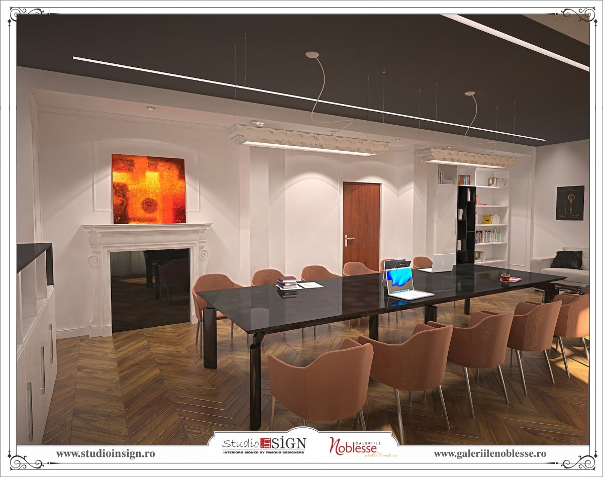 Proiect amenajare interioara - Birouri Macin-2