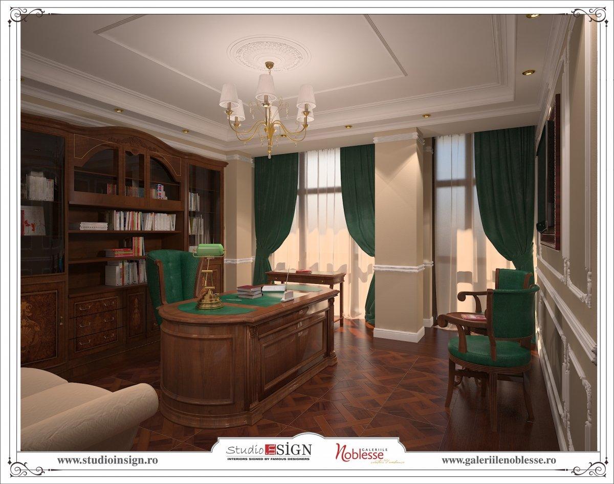 Proiect amenajare interioara - Birouri Macin-6