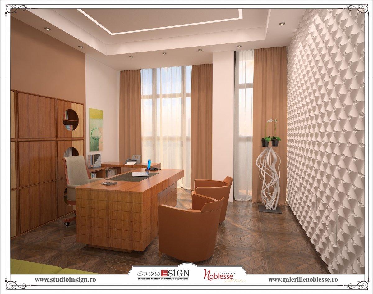Proiect amenajare interioara - Birouri Macin-8