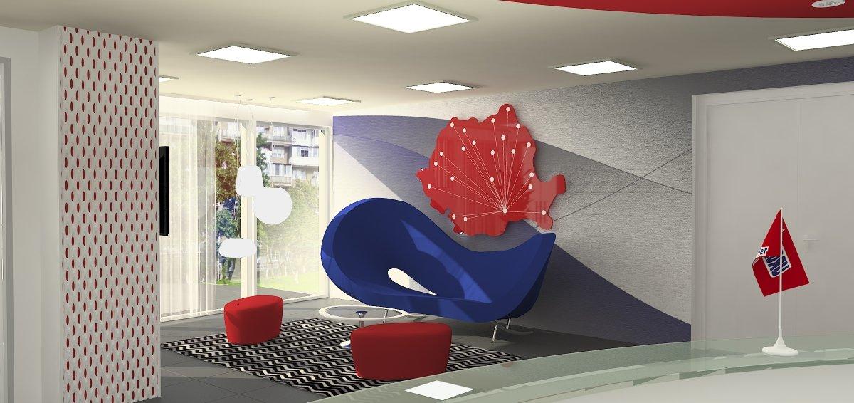 Proiect amenajare sediu firma-Receptie si sala de sedinte-1