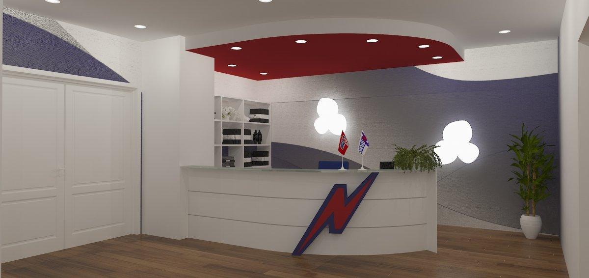 Proiect amenajare sediu firma-Receptie si sala de sedinte-10