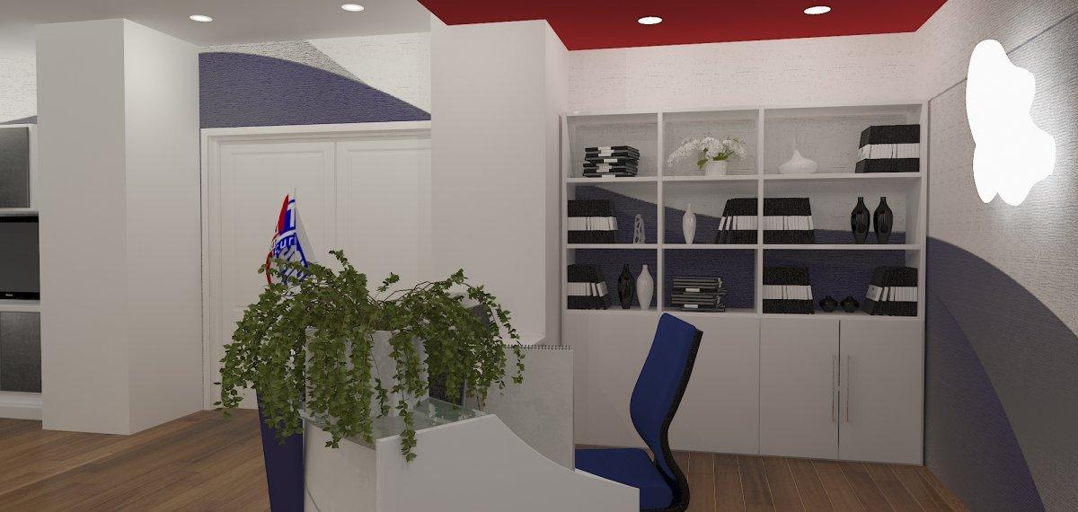 Proiect amenajare sediu firma-Receptie si sala de sedinte-14