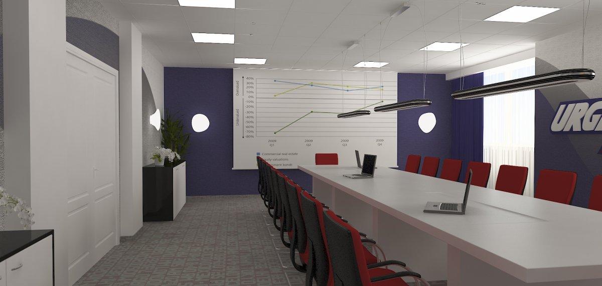 Proiect amenajare sediu firma-Receptie si sala de sedinte-16