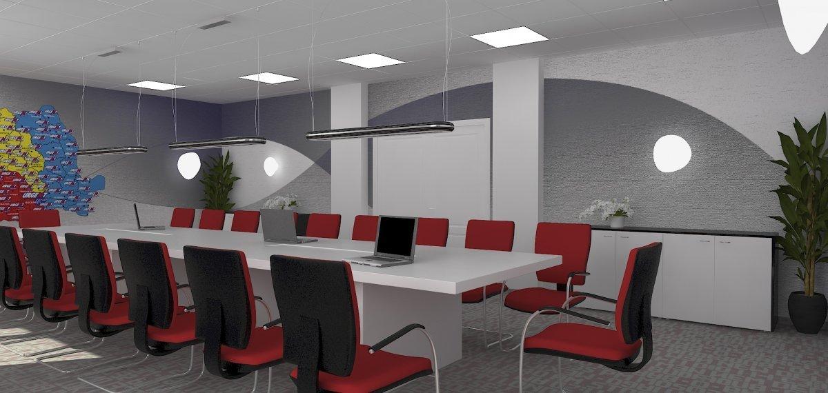 Proiect amenajare sediu firma-Receptie si sala de sedinte-19