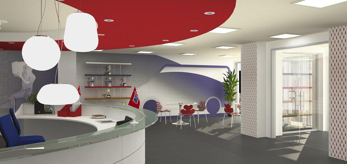 Proiect amenajare sediu firma-Receptie si sala de sedinte-2
