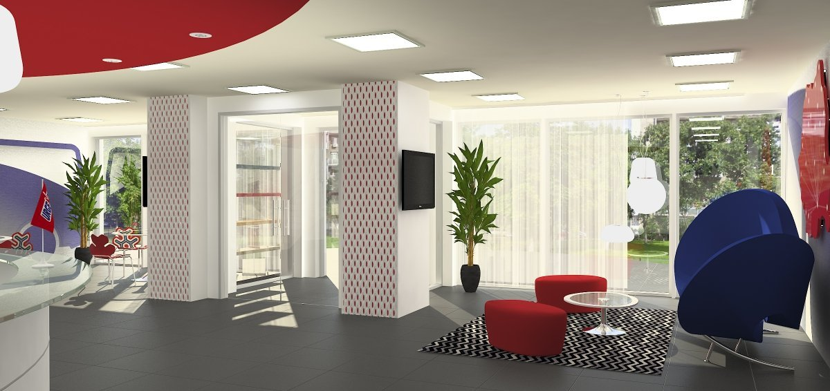 Proiect amenajare sediu firma-Receptie si sala de sedinte-3