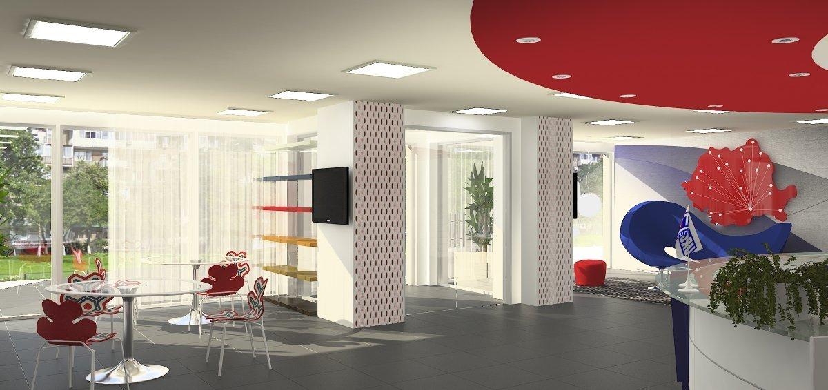 Proiect amenajare sediu firma-Receptie si sala de sedinte-4