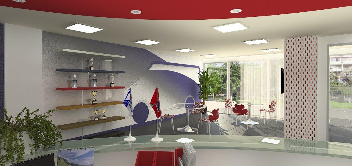 Proiect amenajare sediu firma-Receptie si sala de sedinte-8