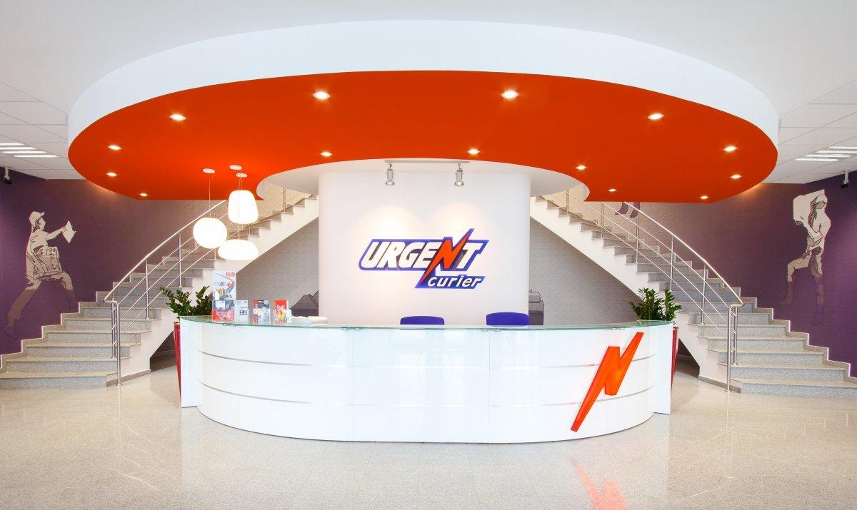 Proiect amenajare sediu firma - Urgent Curier- Receptie si sala de sedinte-1