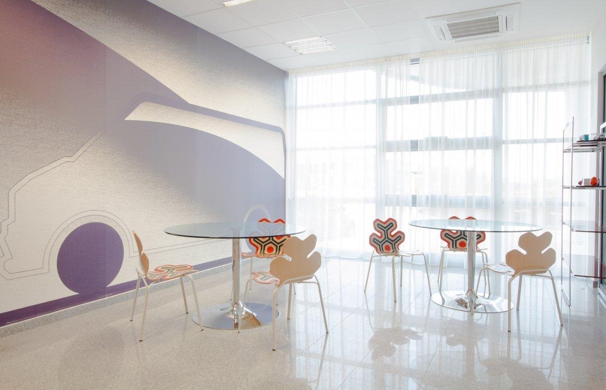 Proiect amenajare sediu firma - Urgent Curier- Receptie si sala de sedinte-3