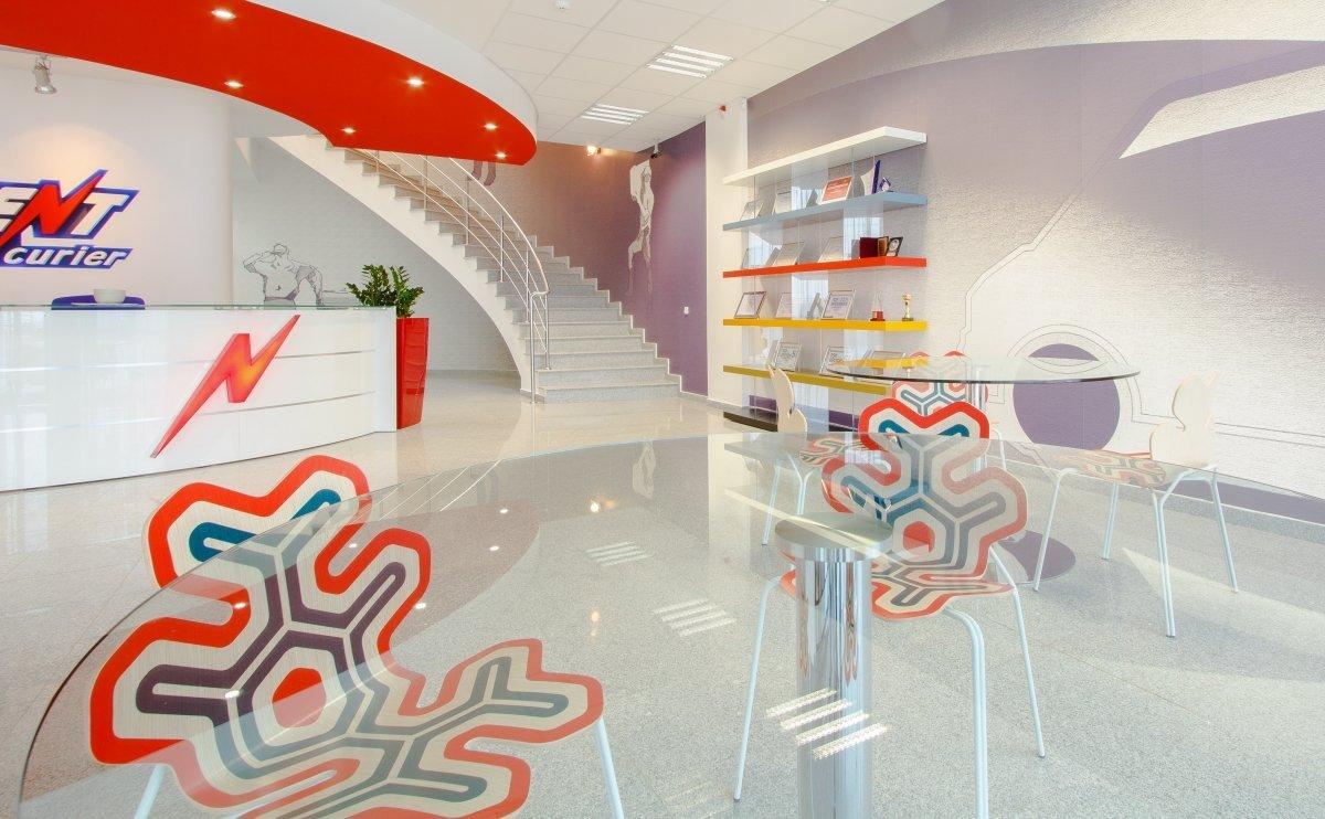 Proiect amenajare sediu firma - Urgent Curier- Receptie si sala de sedinte-5